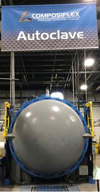 Composite Layup process Pre-preg composites molded under pressure in the autoclave